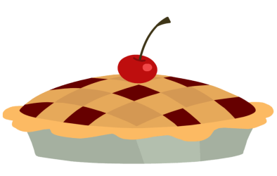 pie clipart apple cherry cartoon pumpkin pizza clip cliparts transparent background slice objects deviantart library whole drawing clipground kid