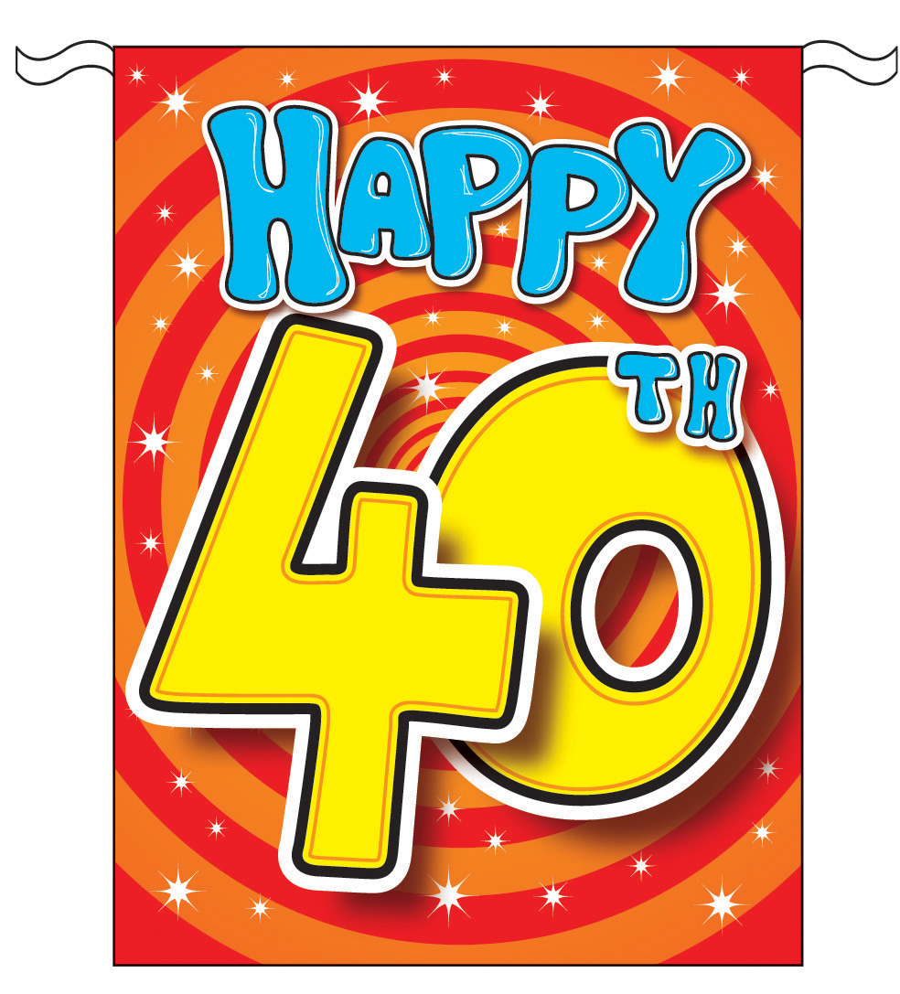hight resolution of 40th birthday clipart for women birthday