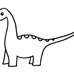 dinosaur clipart black and white [ 1200 x 900 Pixel ]