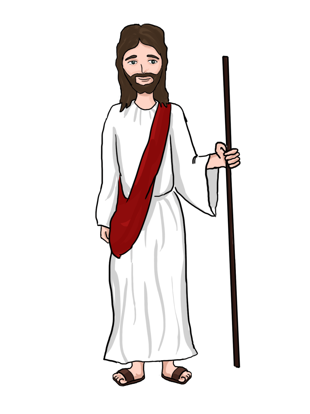 medium resolution of cartoon jesus