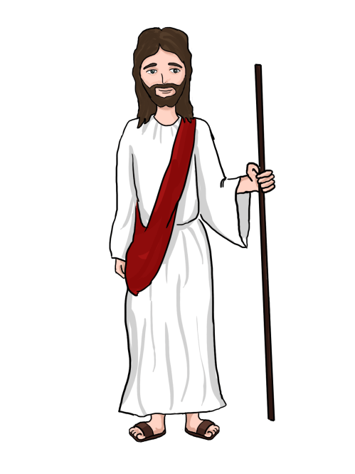 small resolution of cartoon jesus