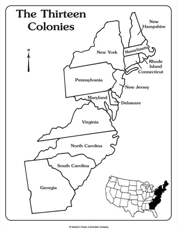 Free Thirteen Colonies Cliparts, Download Free Clip Art