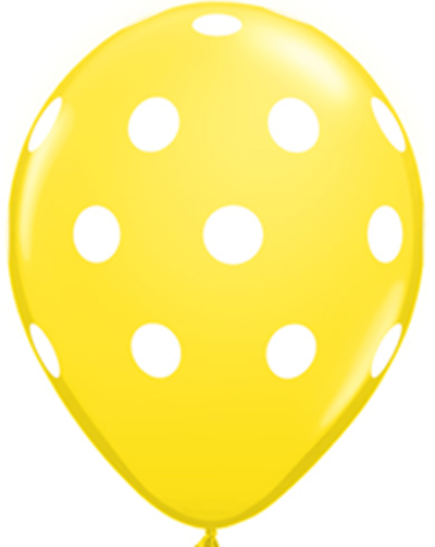 free yellow balloon cliparts