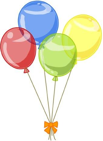 free yellow balloon cliparts