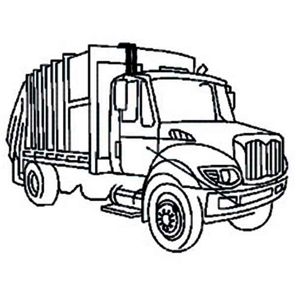 Free Trash Truck Cliparts, Download Free Clip Art, Free