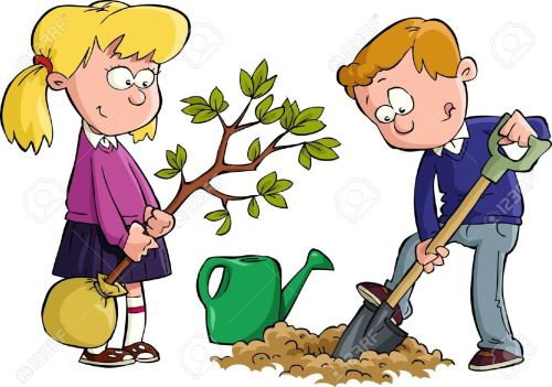 small resolution of digging kids clipart