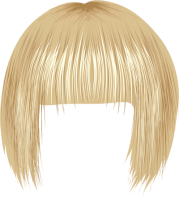 free brown wig cliparts