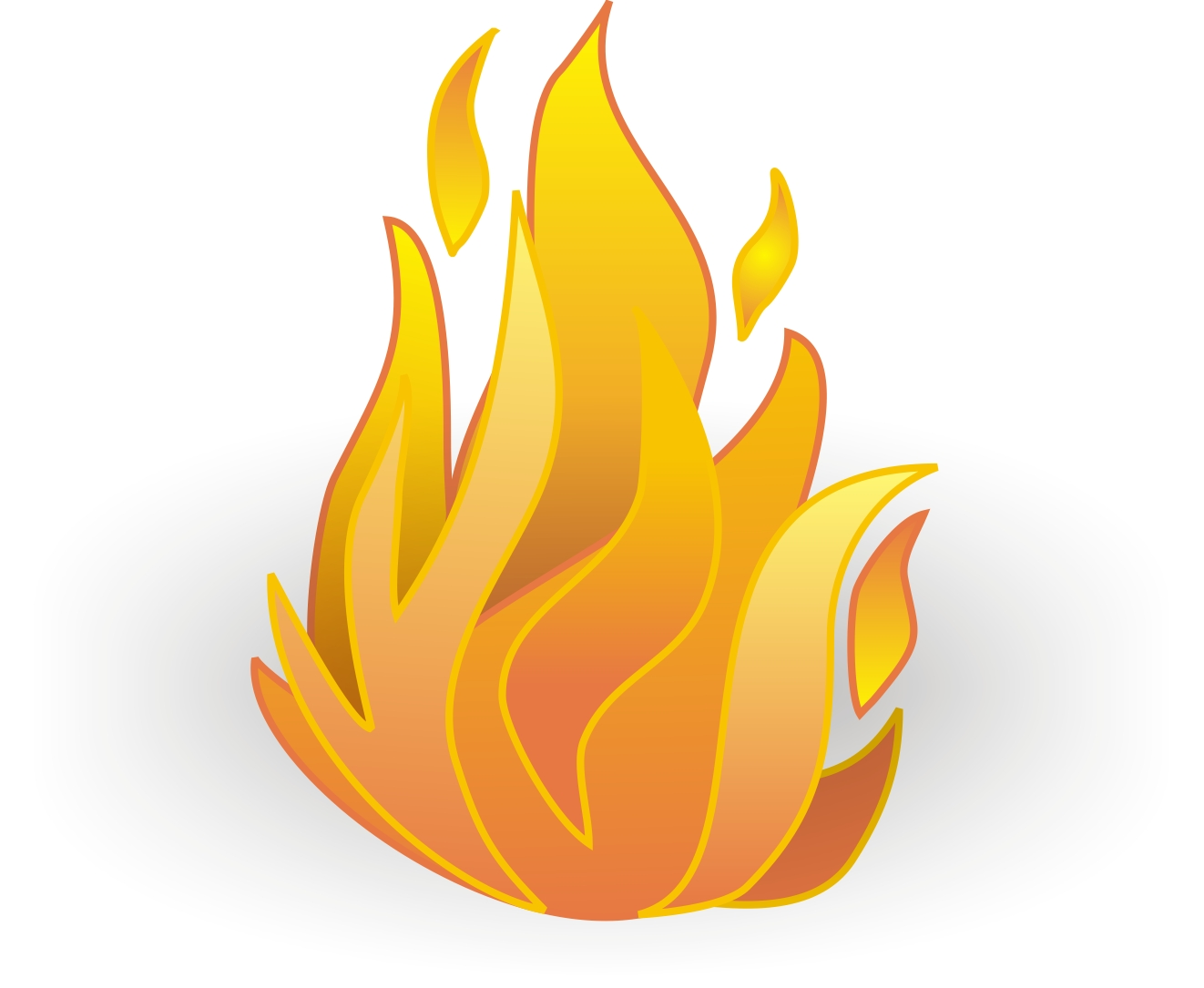 hight resolution of fire