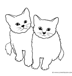 two cats clipart [ 1107 x 946 Pixel ]