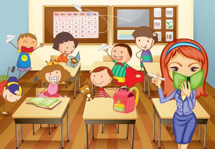 Classroom Animated Clipart