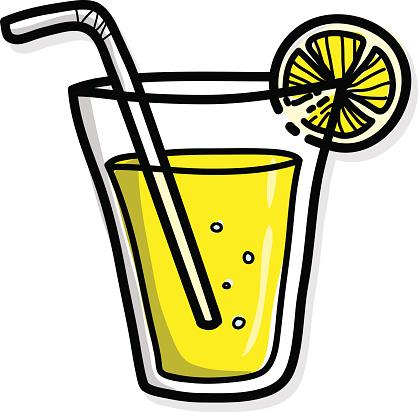 free lemon juice cliparts