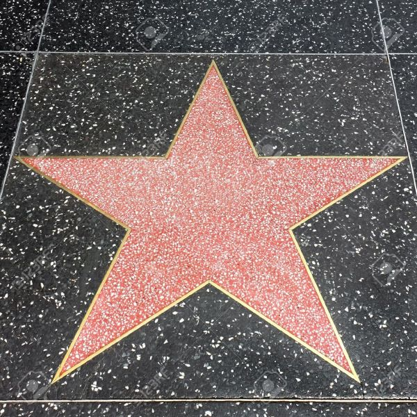 Printable Hollywood Star Walk of Fame