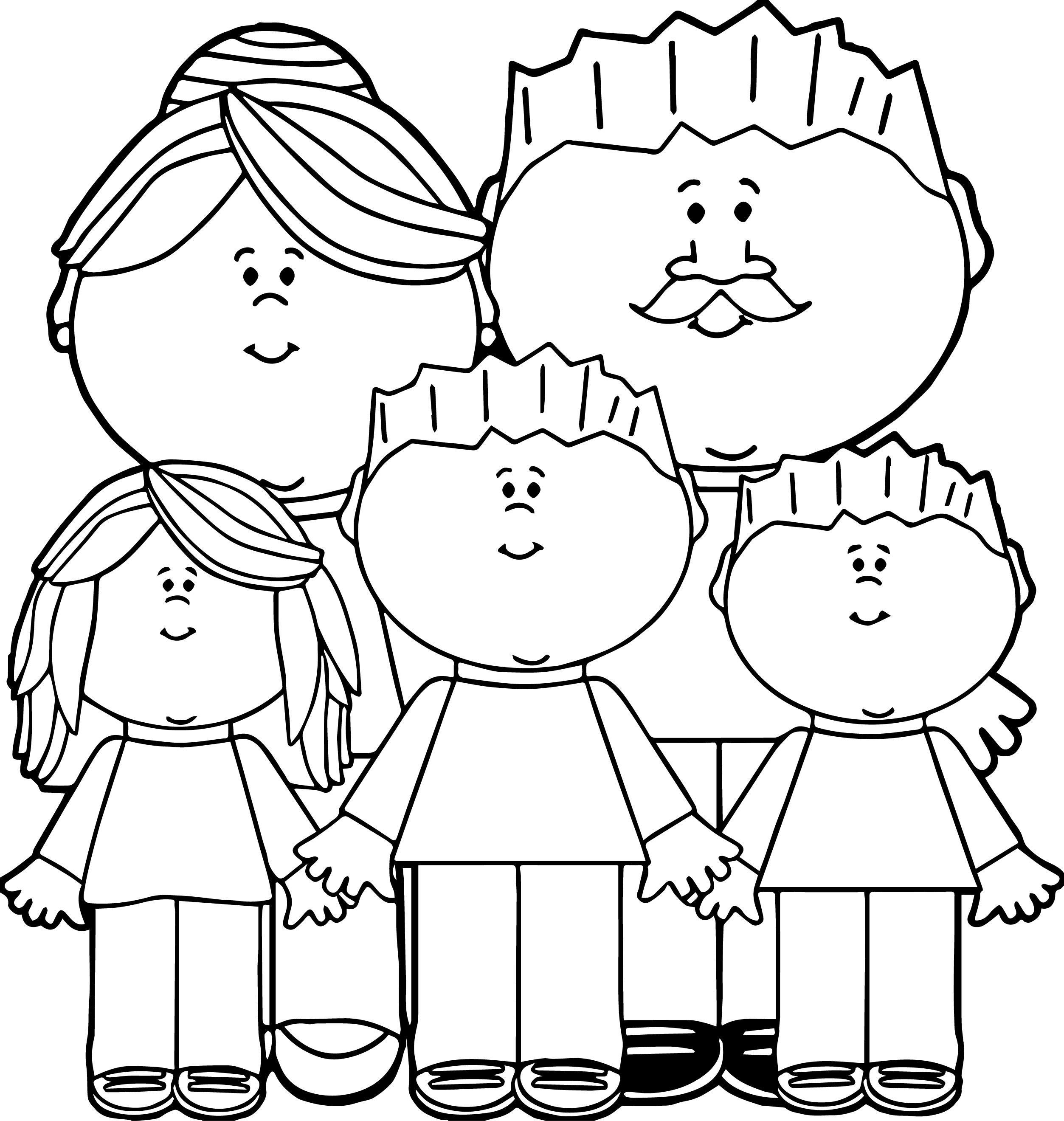 Parent Clipart Black And White