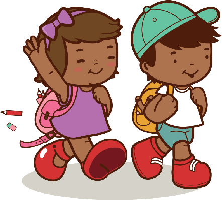 free toddle walking cliparts