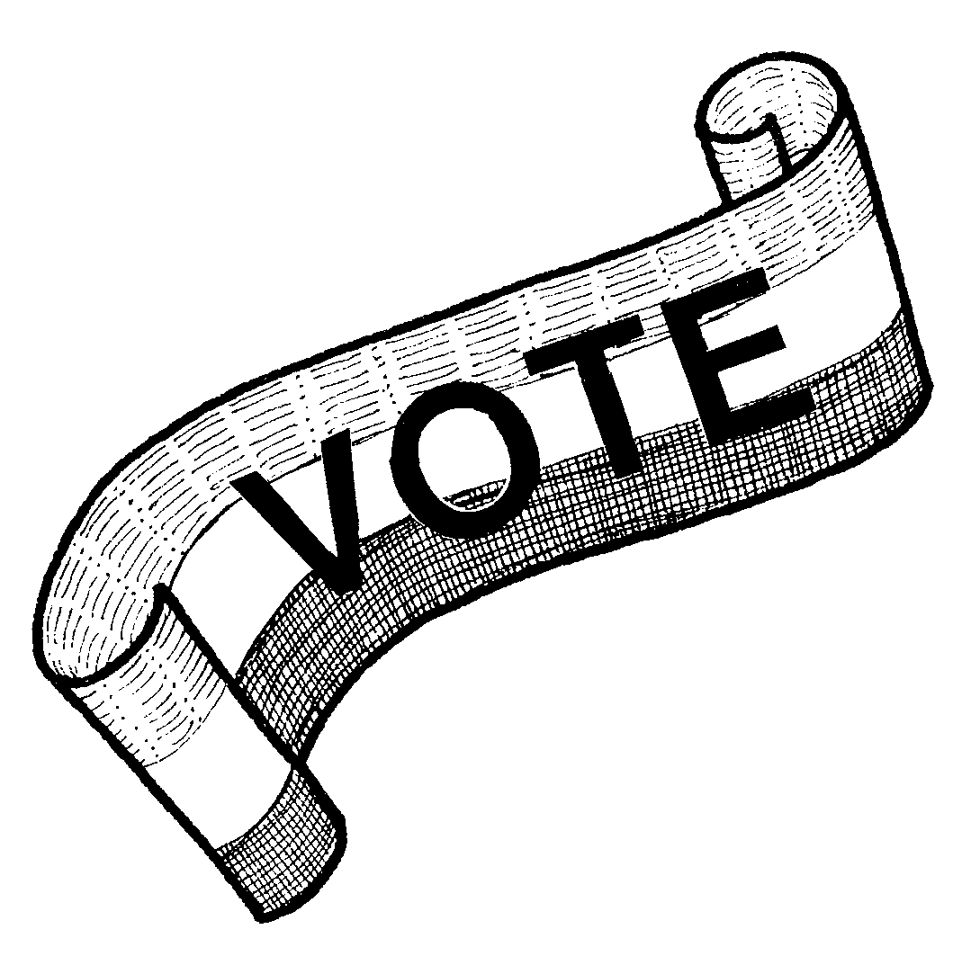 Women Voting Clipart