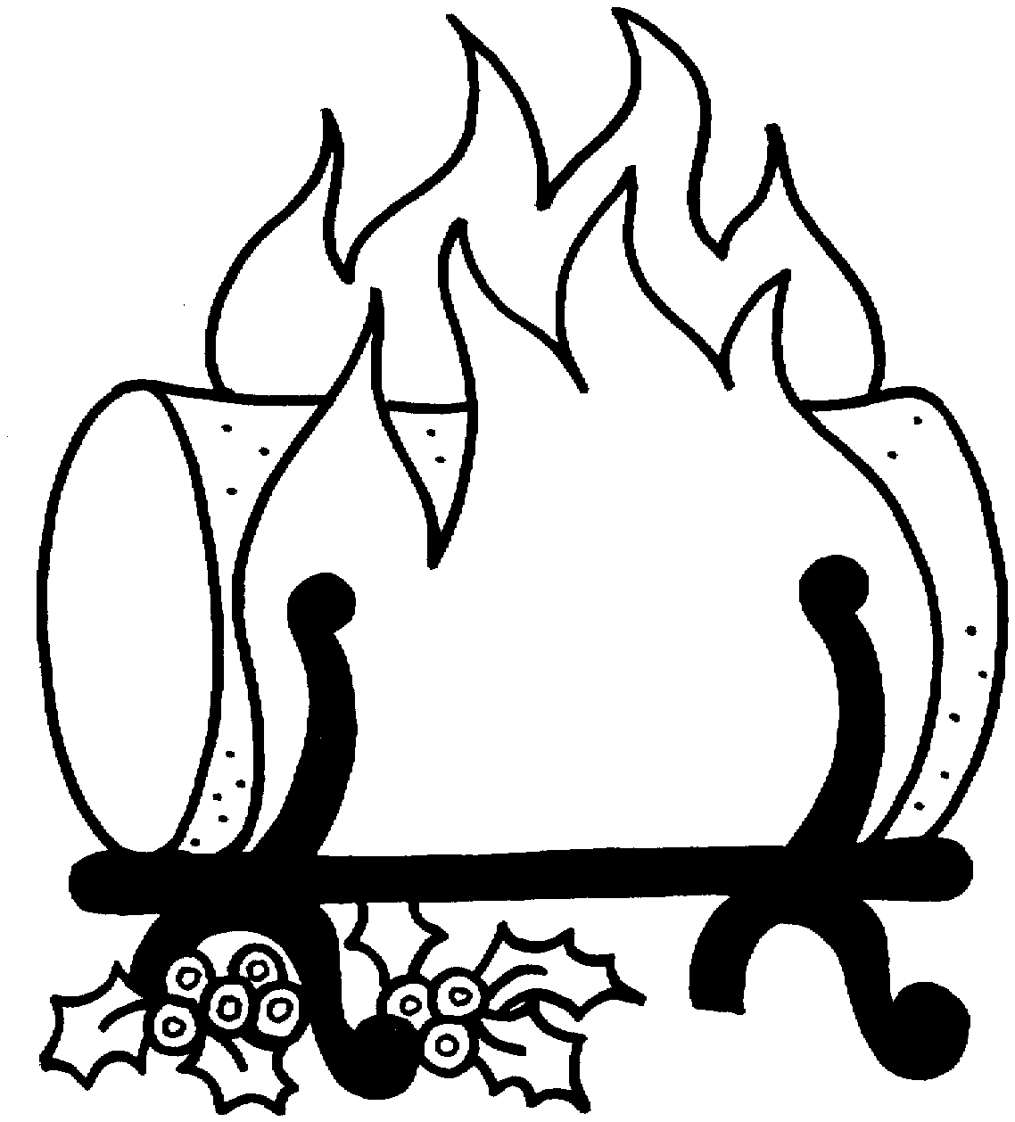 Free Wood-Burning Fireplace Cliparts, Download Free Clip