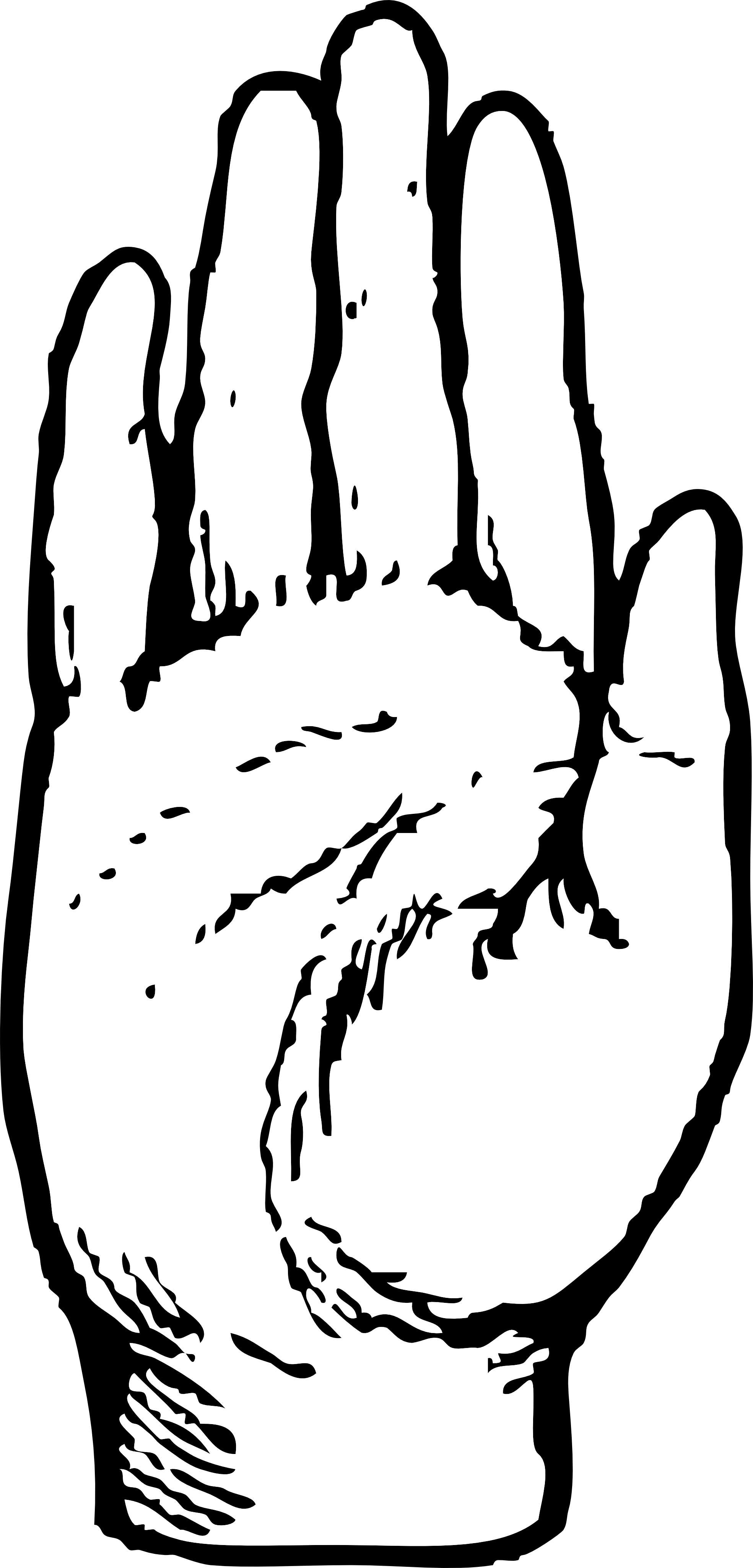 Free Black Hands Cliparts Download Free Clip Art Free