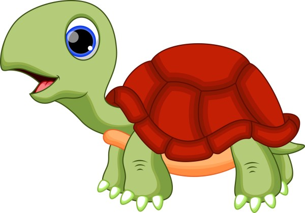 free red turtle cliparts