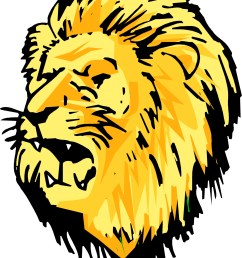 cute lion head clipart [ 1379 x 1772 Pixel ]