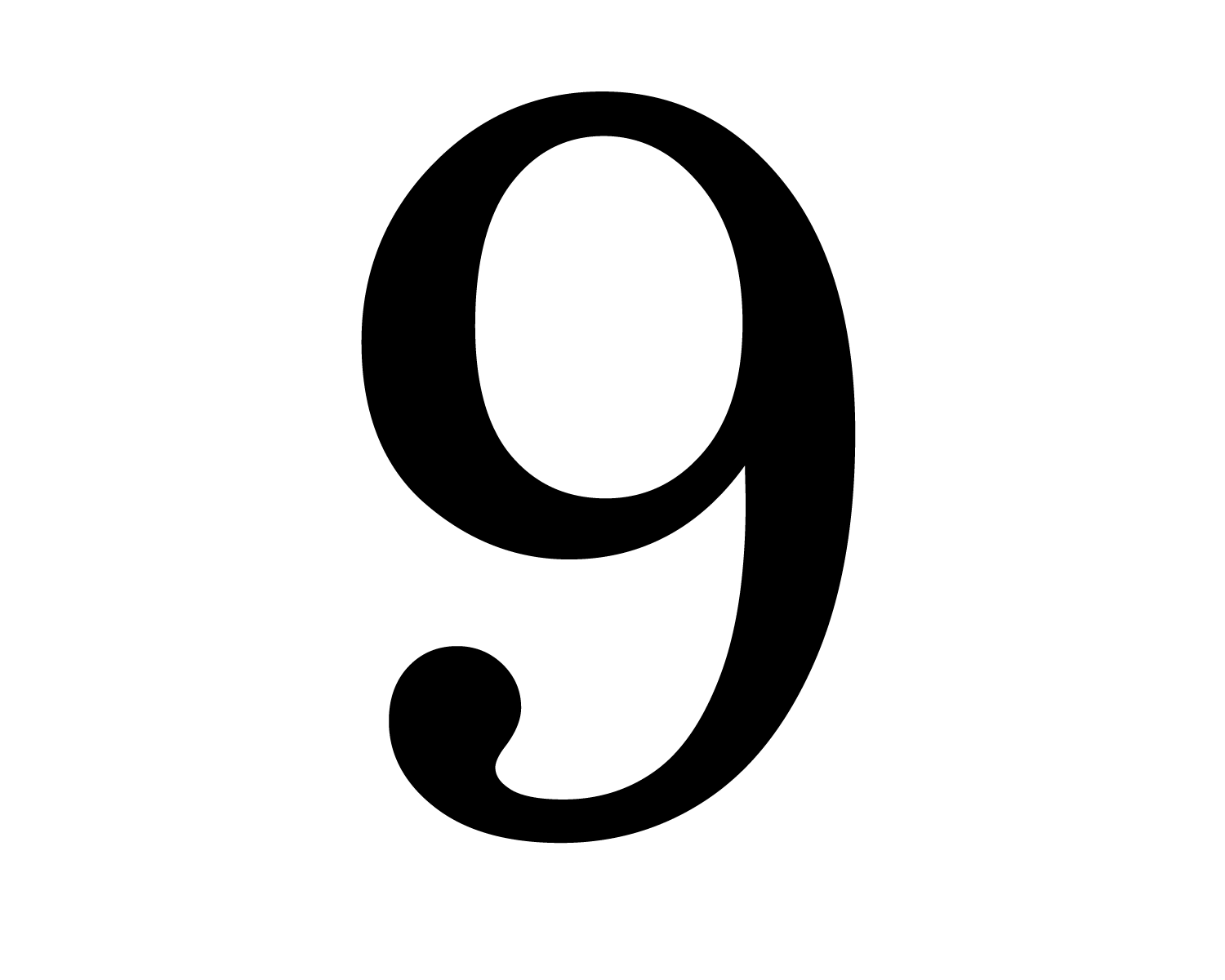 Free Number 9 Cliparts Black Download Free Clip Art Free