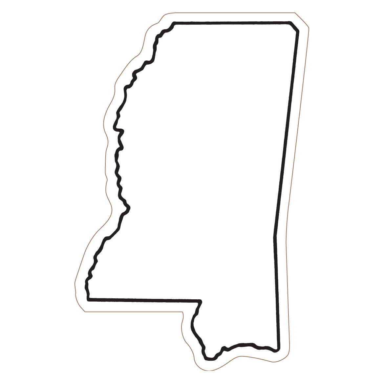 Mississippi Outline Clipart