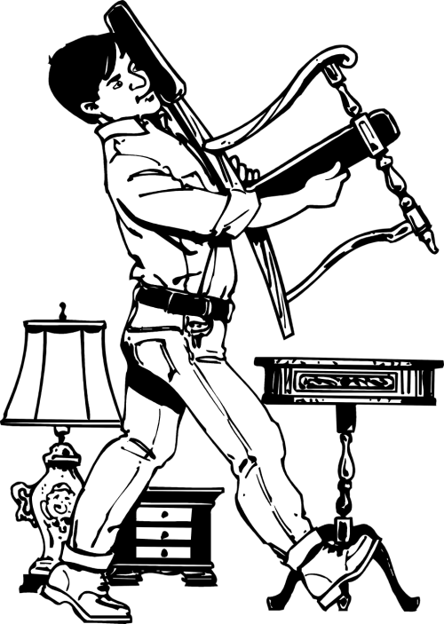 small resolution of moving furniture clipart