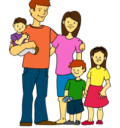 family clipart [ 1684 x 2214 Pixel ]
