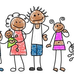 family clipart [ 1800 x 1200 Pixel ]