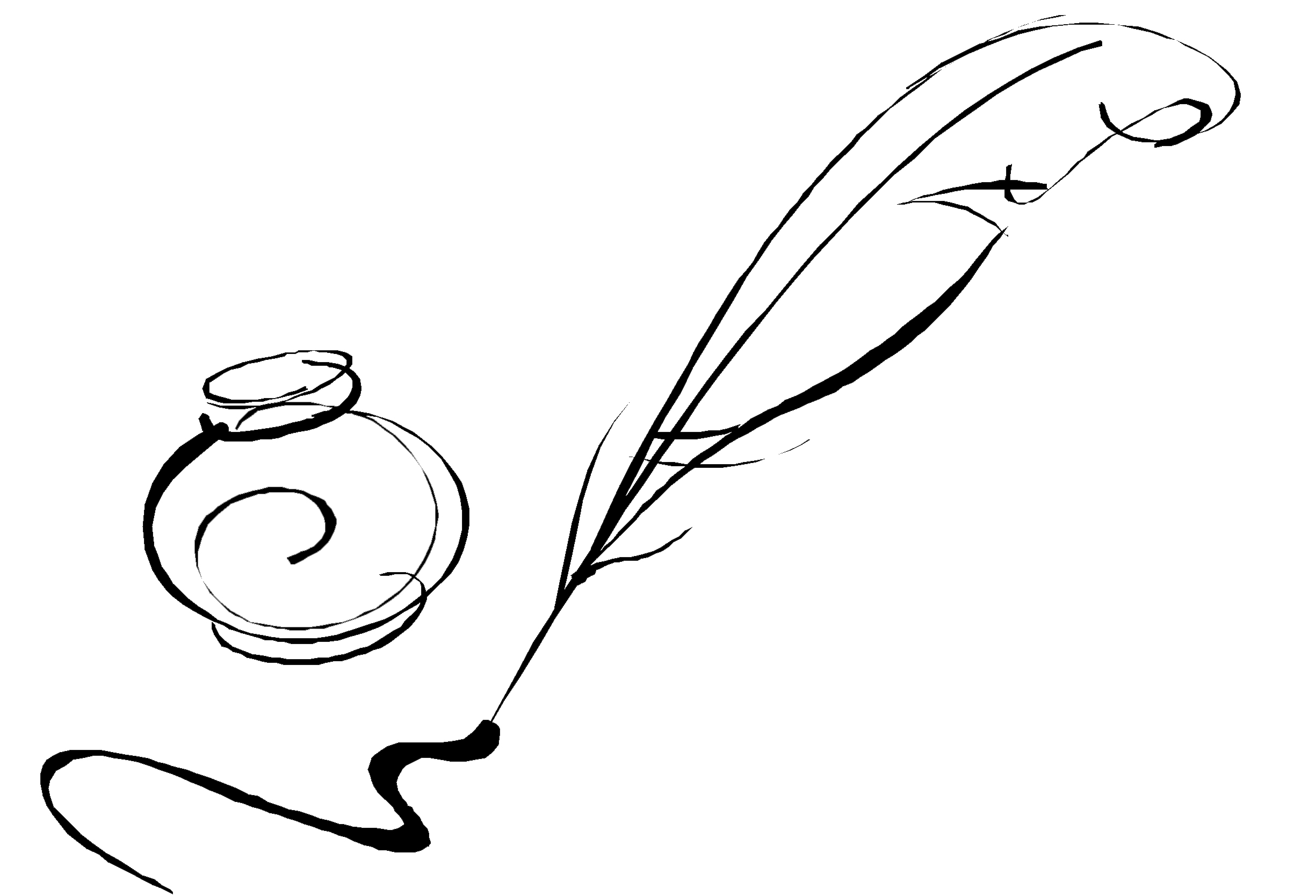 Quill And Ink Clipart