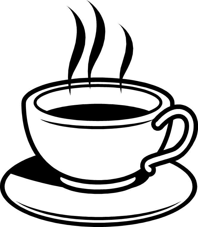 free coffee cliparts black