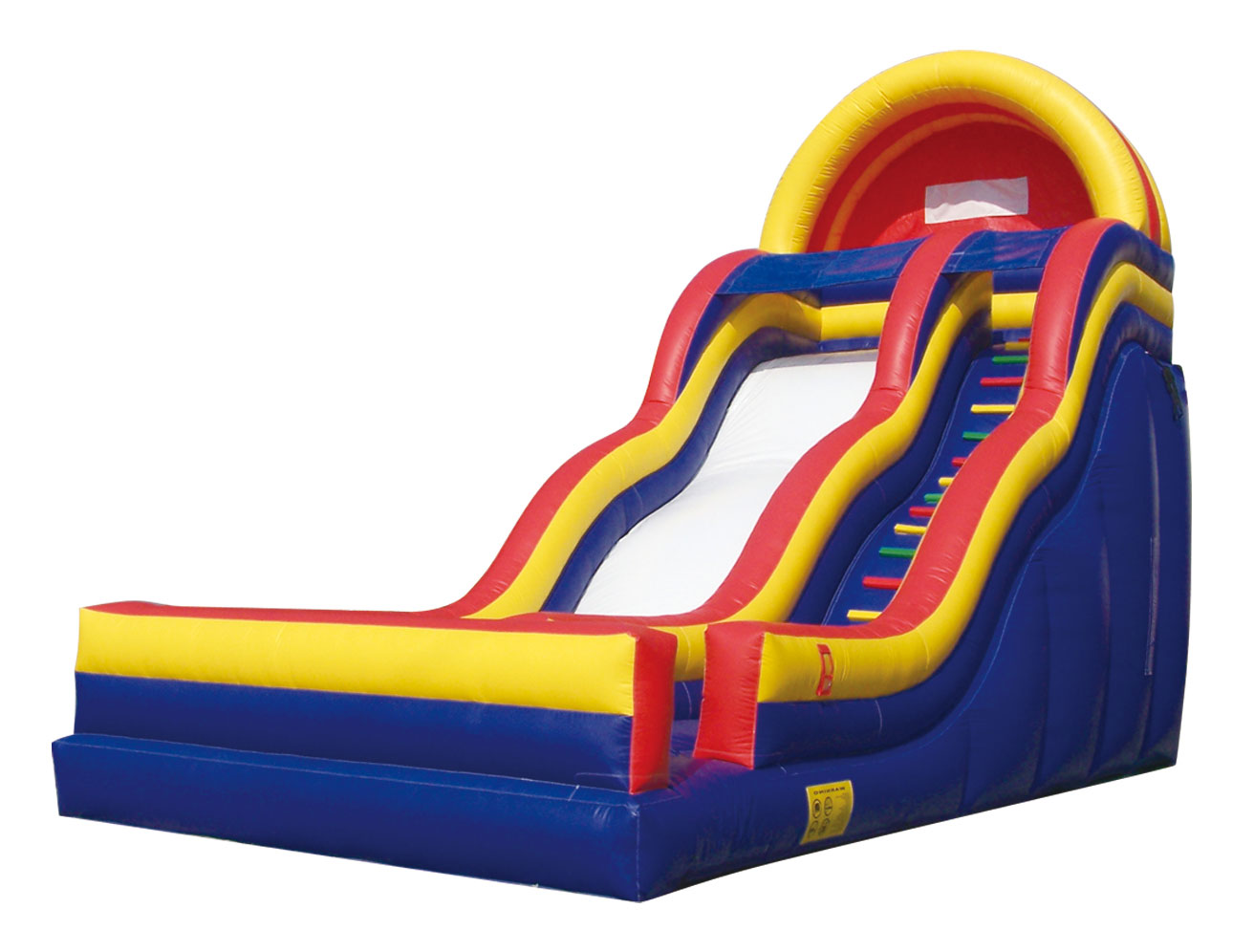 hight resolution of inflatable slide clipart