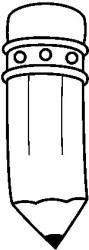 pencil clipart horizontal clip cliparts bw library panda bmp designs