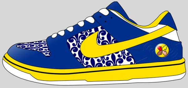 free nike shoes cliparts