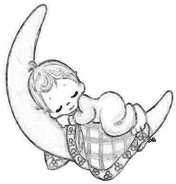20 Sleeping Baby Angel Tattoos Coloring Pages Ideas And Designs