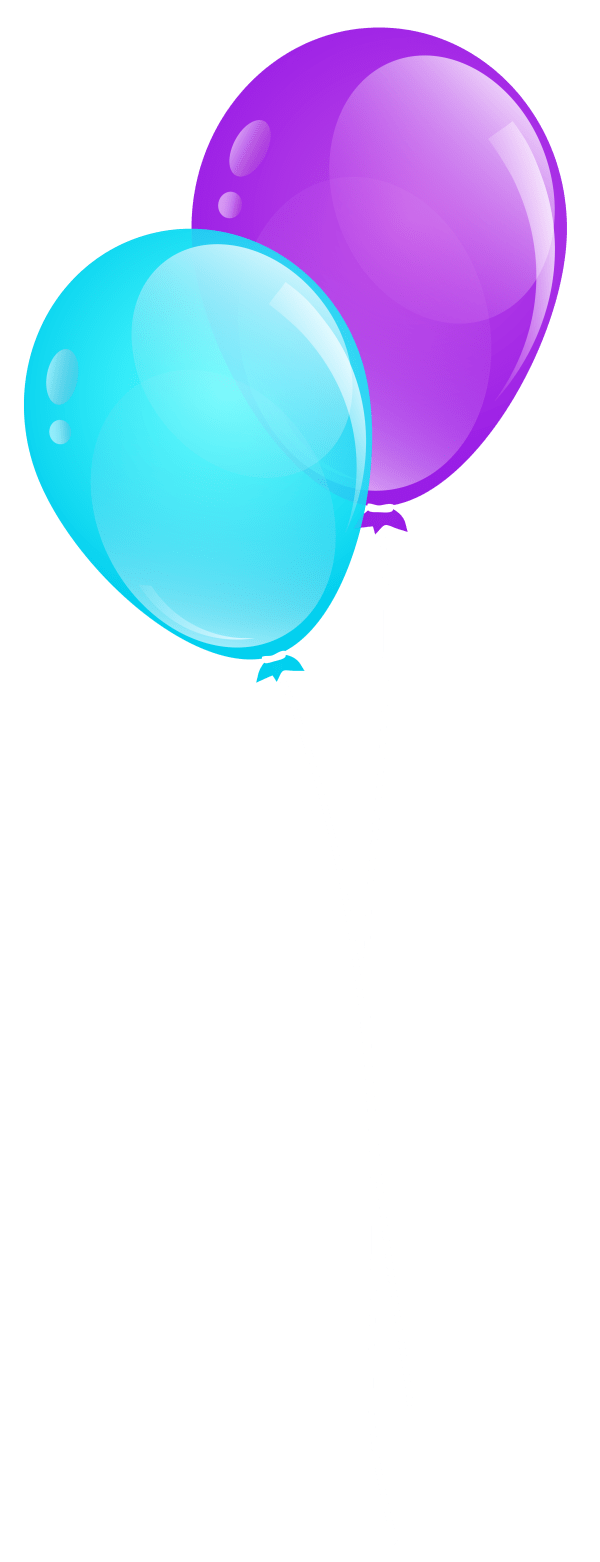 free purple balloons cliparts