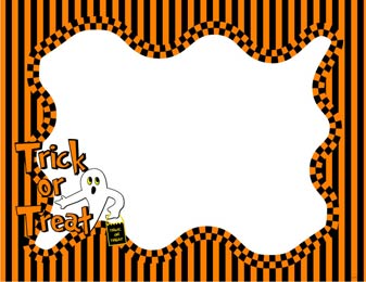 free halloween frame cliparts