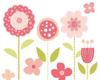 mod flower clipart
