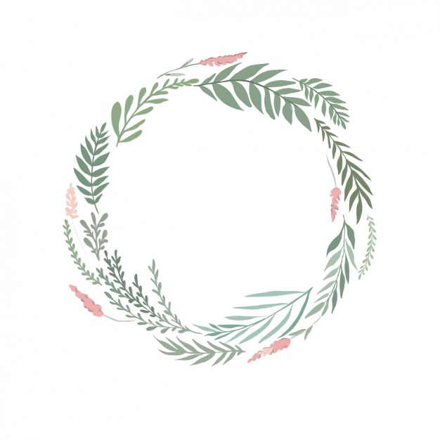 Orange Fall Peony Wallpaper Free Botanical Wreath Cliparts Download Free Clip Art