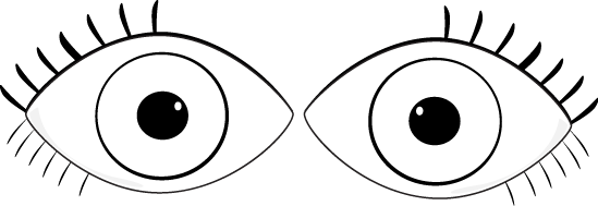 Free Eyes Outline Cliparts, Download Free Clip Art, Free