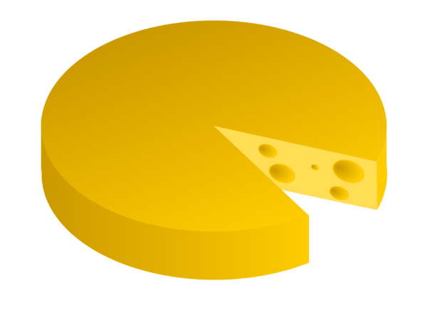 free cheese slices cliparts