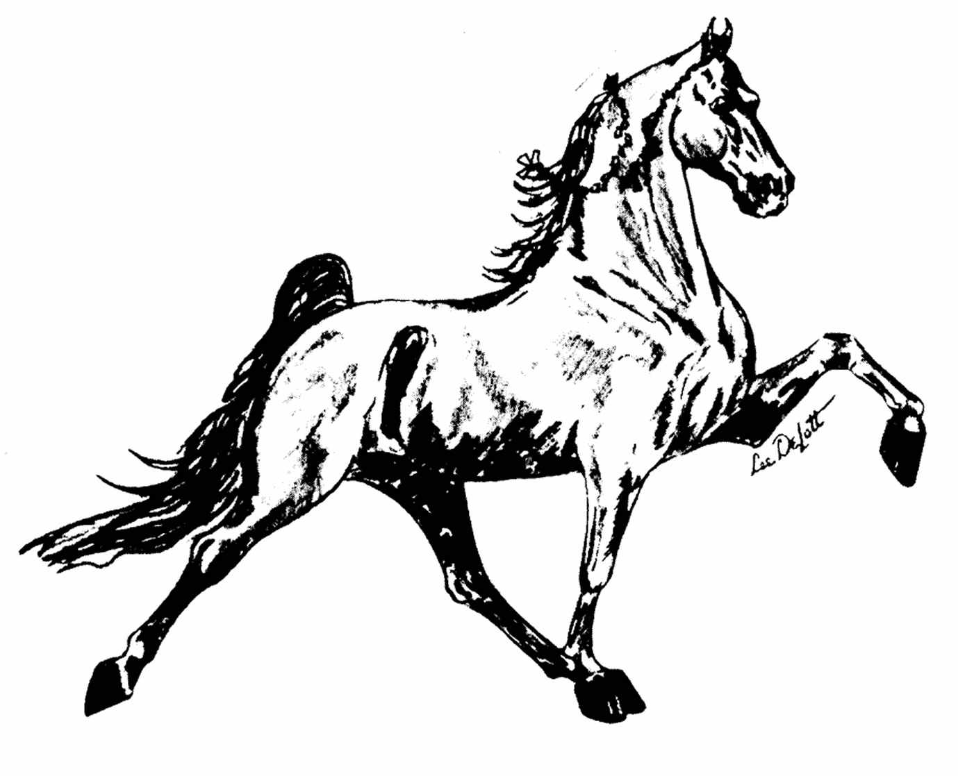 Free Walking Horse Cliparts Download Free Clip Art Free