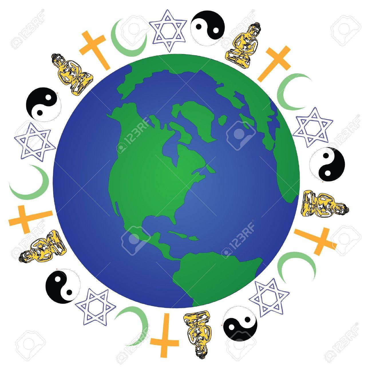 hight resolution of 17 world religion clipart