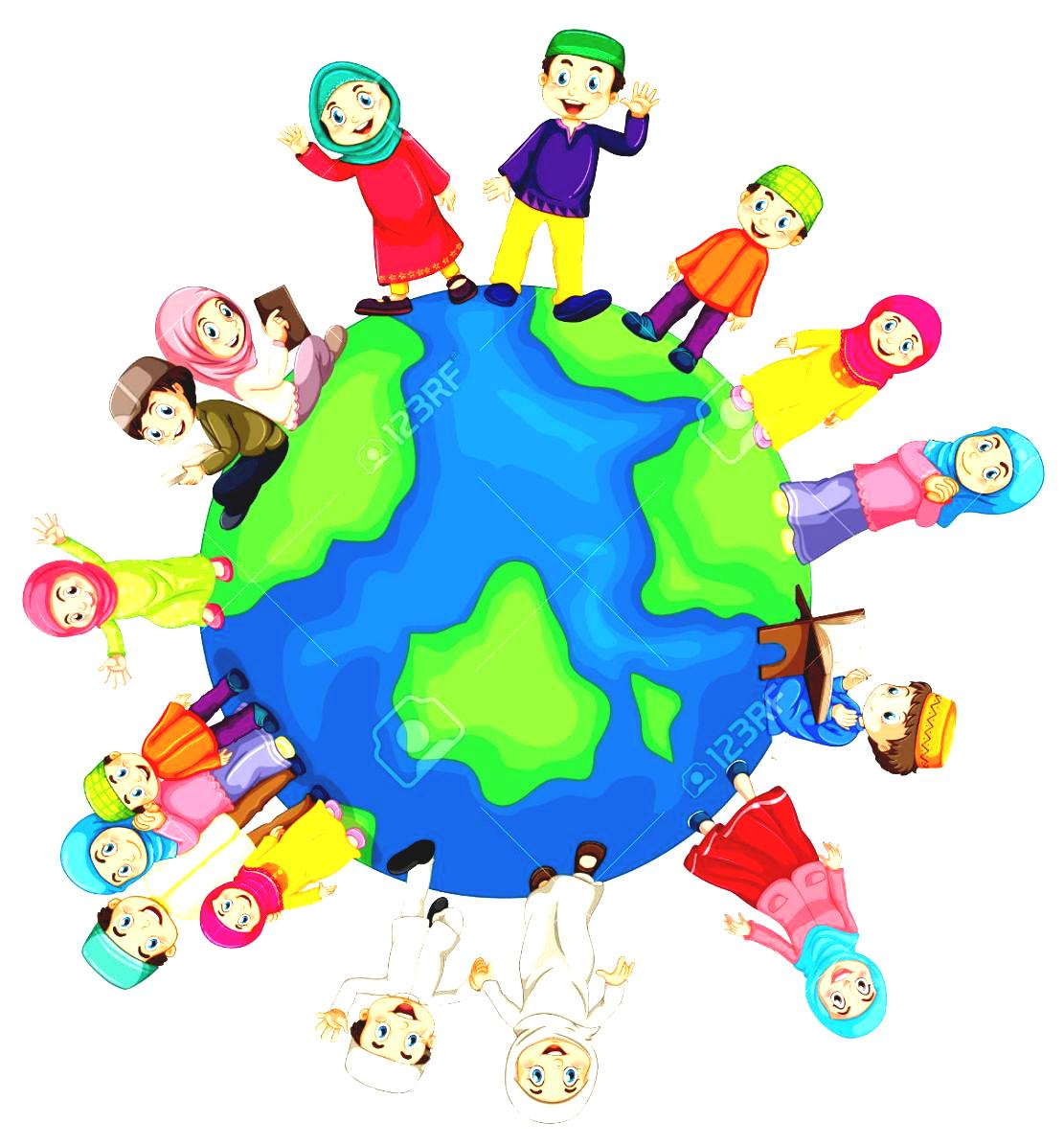 hight resolution of world religion map for kids stock illustrations clipart and