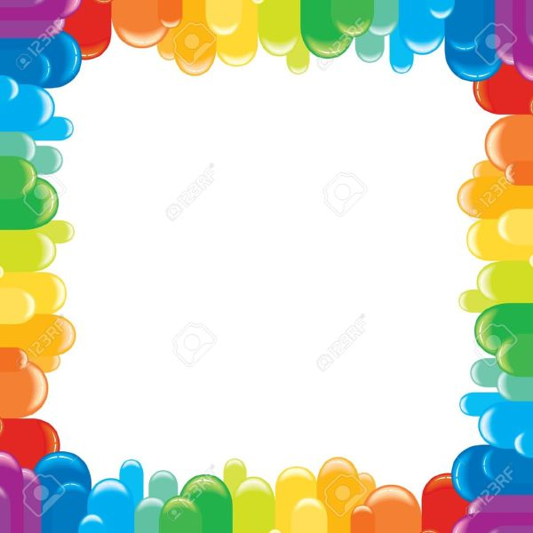Free Rainbow Border Cliparts Clip Art