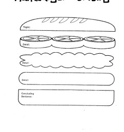 clip arts related to hamburger outline clipart [ 1224 x 1584 Pixel ]