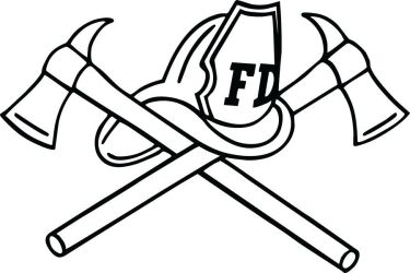firefighter symbol fire clipart department cross maltese decal clip helmet firefighters silhouette fireman coloring fighter axe diecut cliparts cartoon rescue