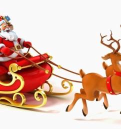 santa reindeer cliparts 2904300 license personal use  [ 1600 x 1000 Pixel ]
