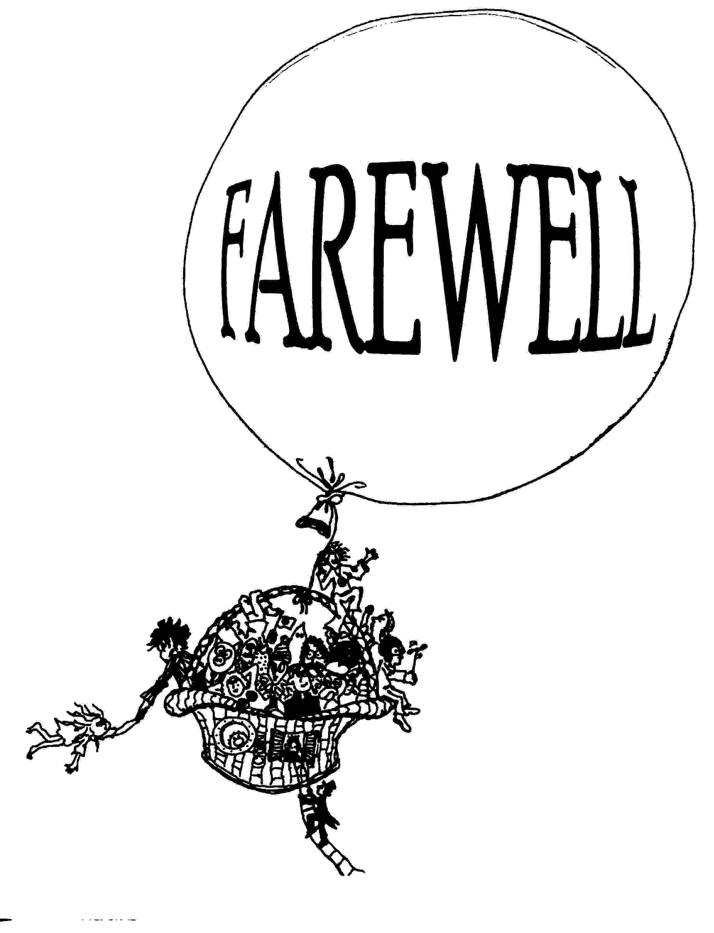 Free Goodbye Celebration Cliparts, Download Free Clip Art