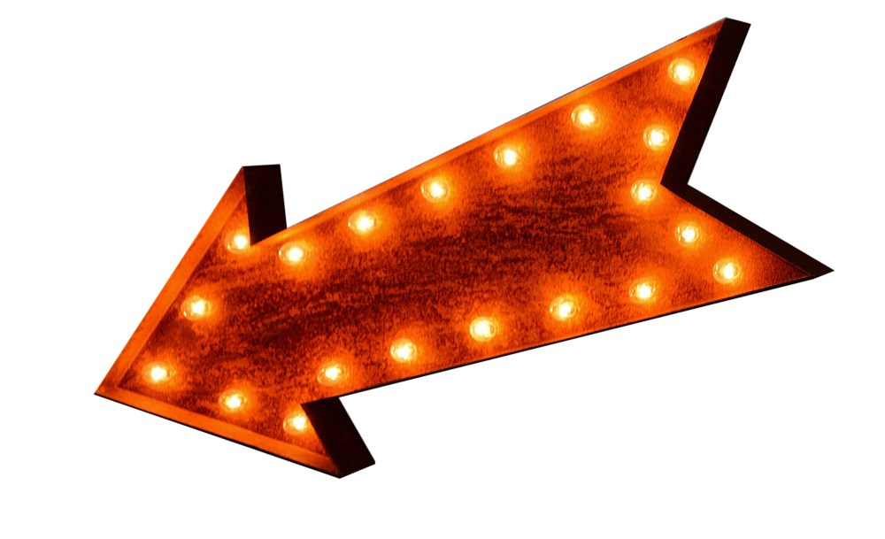 medium resolution of marquee arrow clipart