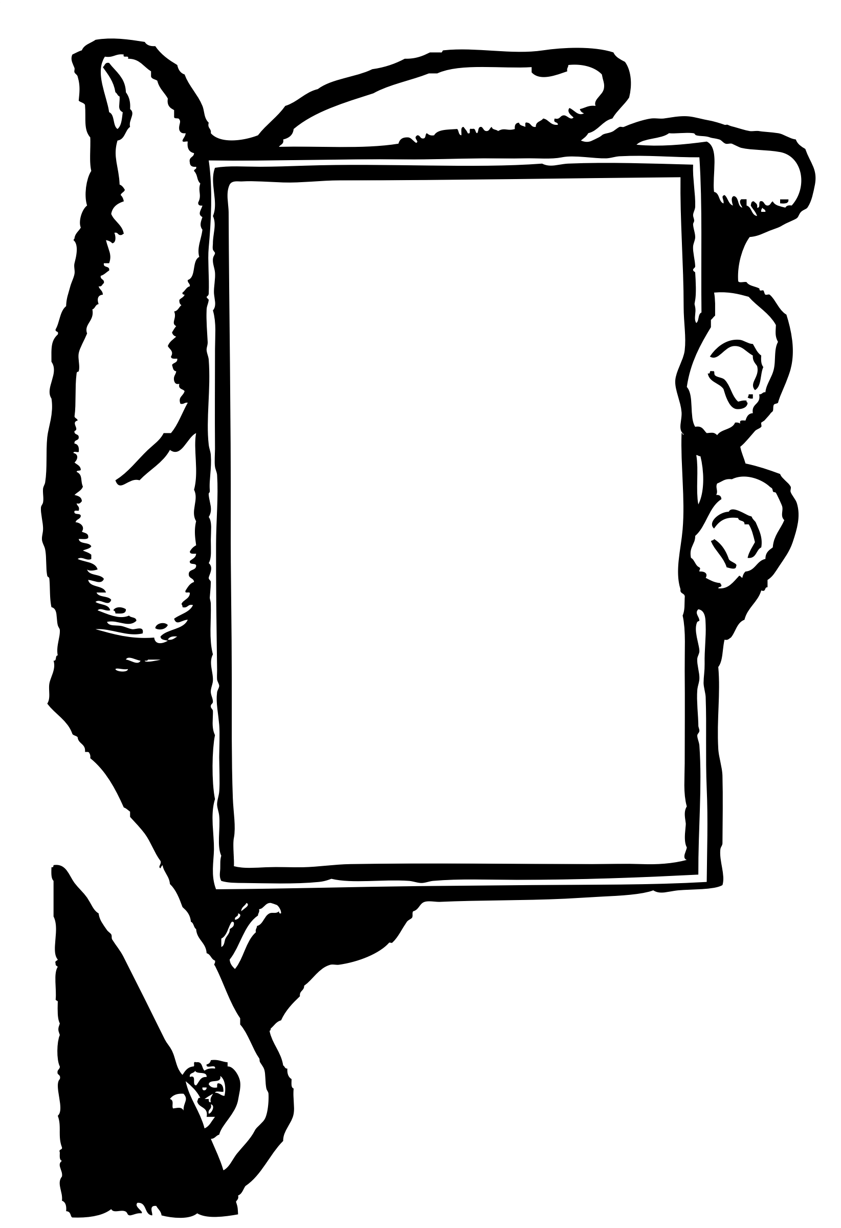 Free Blank Hand Cliparts Download Free Clip Art Free